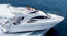 Crewed or bareboat motor boat for charter